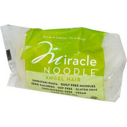 Miracle Noodle, Angel Hair, Shirataki Pasta 198g
