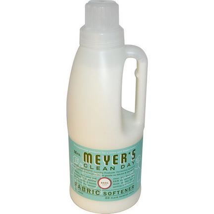 Mrs. Meyers Clean Day, Fabric Softener, Basil Scent 946ml