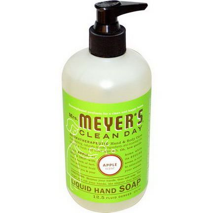 Mrs. Meyers Clean Day, Liquid Hand Soap, Apple Scent 370ml