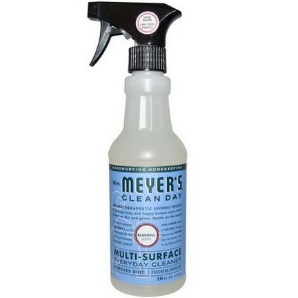 Mrs. Meyers Clean Day, Multi-Surface Everyday Cleaner, Bluebell Scent 473ml