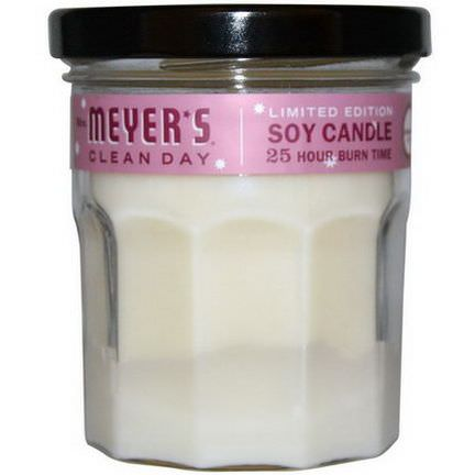 Mrs. Meyers Clean Day, Scented Soy Candle, Cranberry Scent 140g