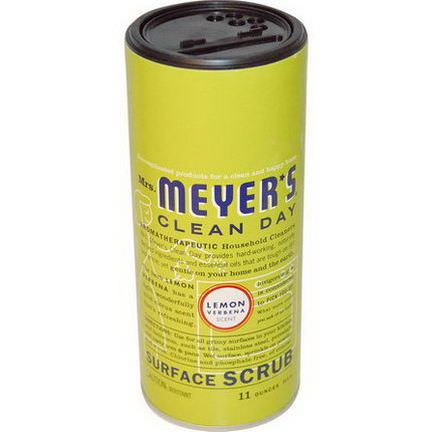 Mrs. Meyers Clean Day, Surface Scrub, Lemon Verbena Scent 311g