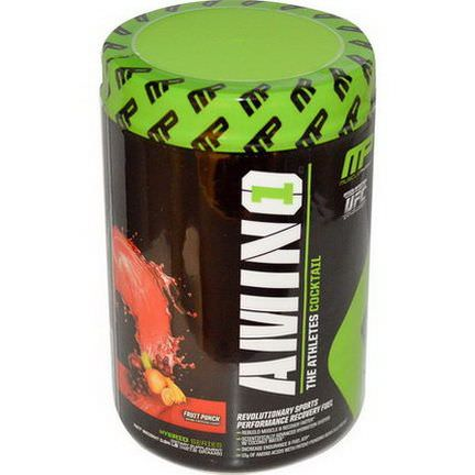 Muscle Pharm, Amino 1, Revolutionary Sports Performance Recover Fuel, Fruit Punch 427.8g