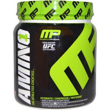 Muscle Pharm, Amino 1, The Athlete's Cocktail, Strawberry Margarita 426g