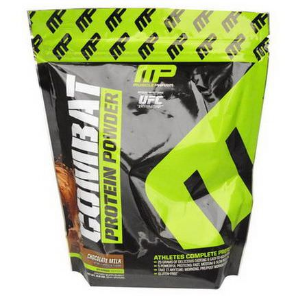 Muscle Pharm, Combat Protein Powder, Chocolate Milk 244g