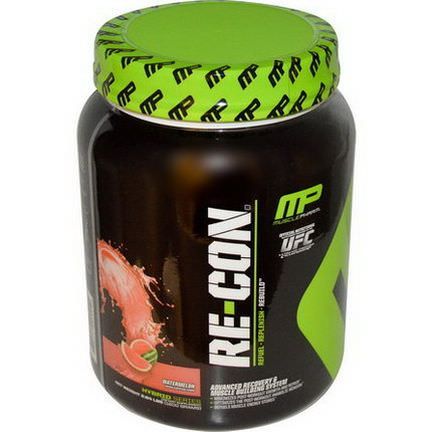 Muscle Pharm, Re-Con, Advanced Recovery&Muscle Building System, Watermelon 1200g