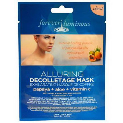 My Spa Life, Forever Luminous, Alluring Decolletage Mask, Chest, 1 Decolletage Mask 23g