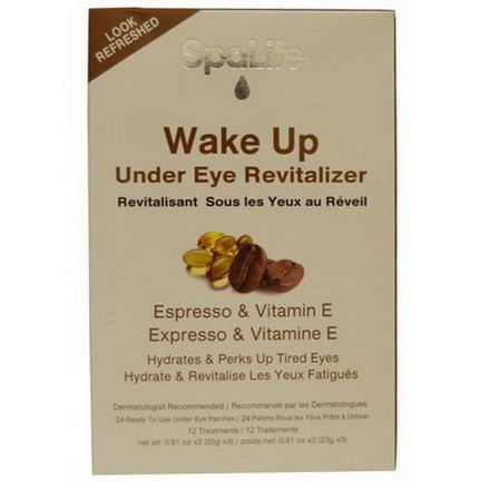 My Spa Life, Wake Up Under Eye Revitalizer, Expresso&Vitamin E, 12 Treatments