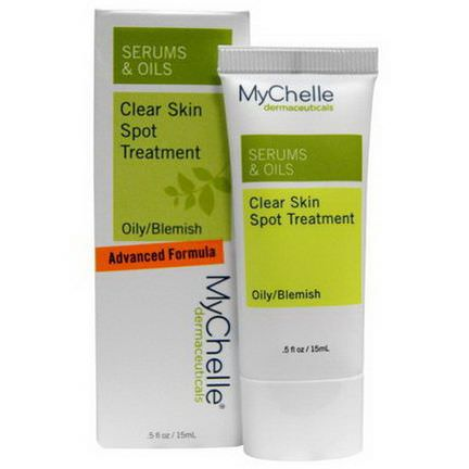 MyChelle Dermaceuticals, Serums&Oils, Clear Skin Spot Treatment, Oily/Blemish 15ml