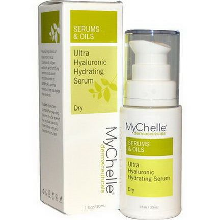 MyChelle Dermaceuticals, Ultra Hyaluronic Hydrating Serum, Dry, Step 3 30ml