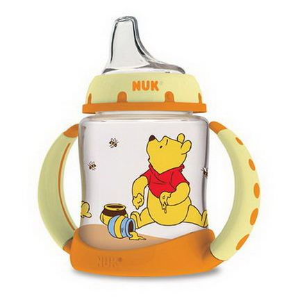 NUK, Disney Baby, Winnie The Pooh Learner Cup, 6+ Months, 1 Cup 150ml
