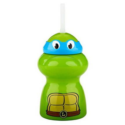 NUK, Graduates, Teenage Mutant Ninja Turtles, Straw Character Cup, 12+ Months, 1 Cup 300ml