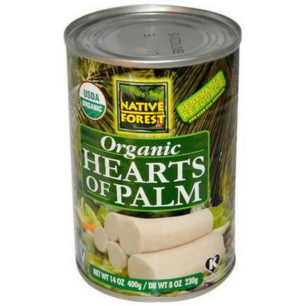 Native Forest, Organic Hearts of Palm 400g