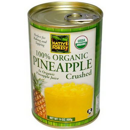 Native Forest, Organic Pineapple, Crushed 400g