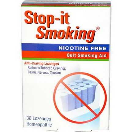 NatraBio, Stop-It Smoking, Anti-Craving Lozenges, 36 Lozenges