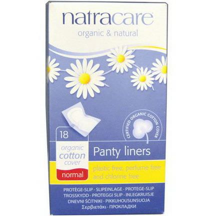 Natracare, Organic&Natural Panty Liners, Normal, 18 Panty Liners