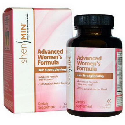 Natrol, Shen Min, Hair Stregthening, Advanced Women's Formula, 60 Tablets