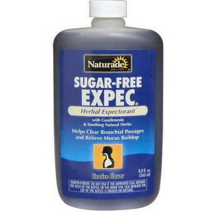 Naturade, Sugar-Free Expec, Licorice Flavor 260ml