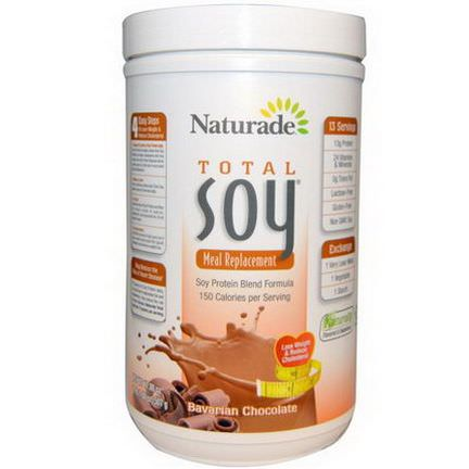 Naturade, Total Soy, Meal Replacement, Bavarian Chocolate 507g