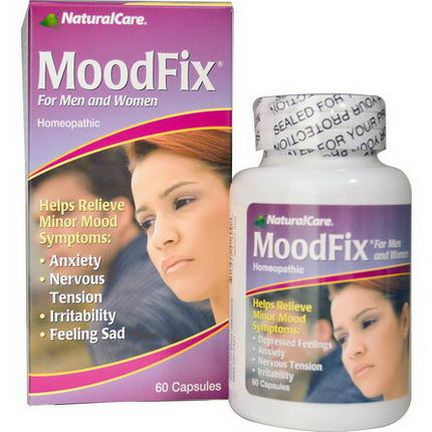 Natural Care, MoodFix, For Men and Women, 60 Capsules