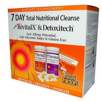 Natural Factors, 7 Day Total Nutritional Cleansing Program Kit