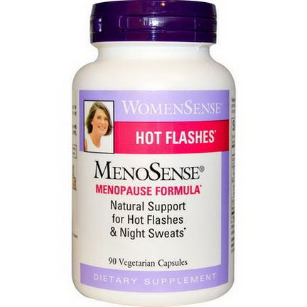 Natural Factors, WomenSense, MenoSense, Menopause Formula, 90 Veggie Caps