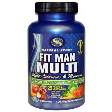 Natural Sport, Fit Man Multi, 100 Veggie Caps