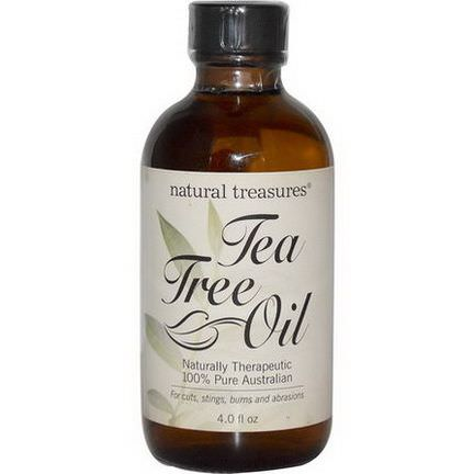 Natural Treasures, BNG, Tea Tree Oil, 100% Pure Australian, 4.0 fl oz