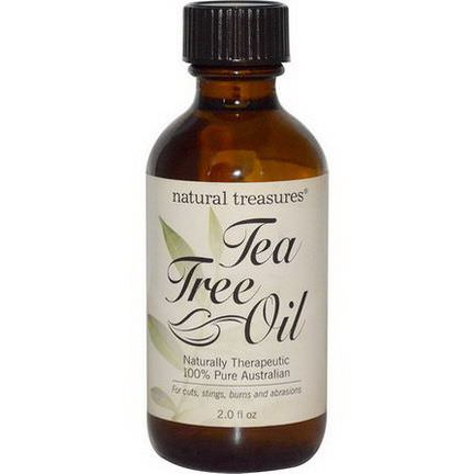 Natural Treasures, BNG, Tea Tree Oil, 2.0 fl oz