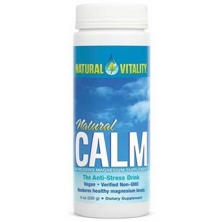 Natural Vitality, Natural Calm, The Anti-Stress Drink Unflavored 226g