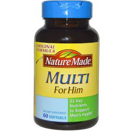 Nature Made, Multi For Him, 60 Softgels