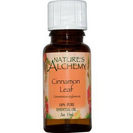 Nature's Alchemy, Cinnamon Leaf, Essential Oil 15ml