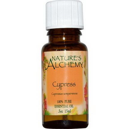 Nature's Alchemy, Cypress, Essential Oil 15ml