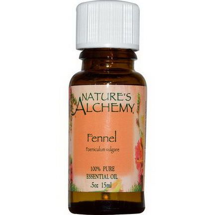 Nature's Alchemy, Essential Oil, Fennel 15ml