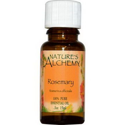 Nature's Alchemy, Essential Oil, Rosemary 15ml