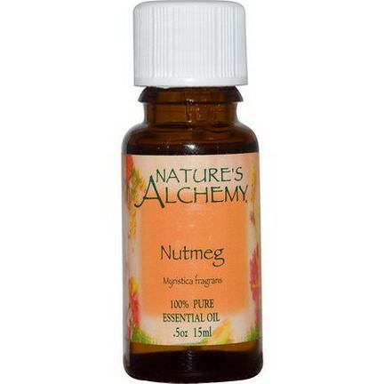 Nature's Alchemy, Nutmeg, Essential Oil 15ml