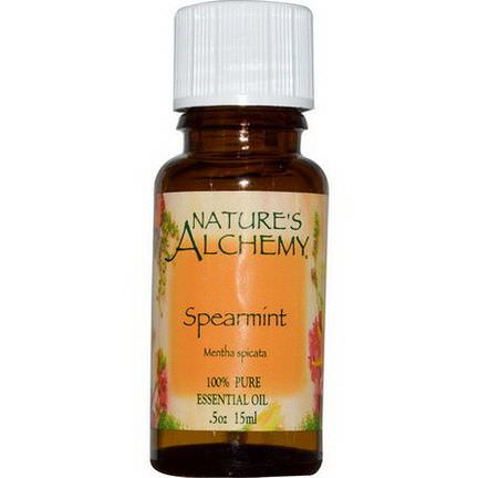 Nature's Alchemy, Spearmint, Essential Oil 15ml