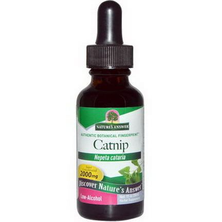 Nature's Answer, Catnip, Low-Alcohol, 2000mg 30ml