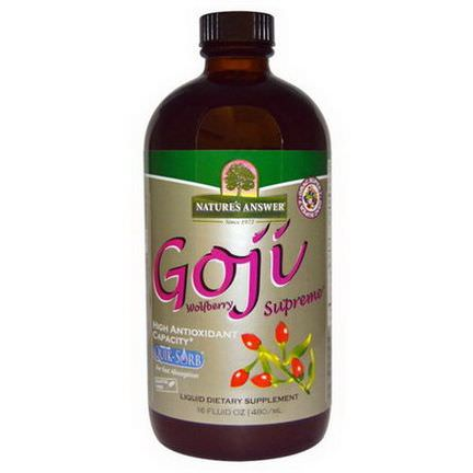 Nature's Answer, Goji Wolfberry Supreme 480ml