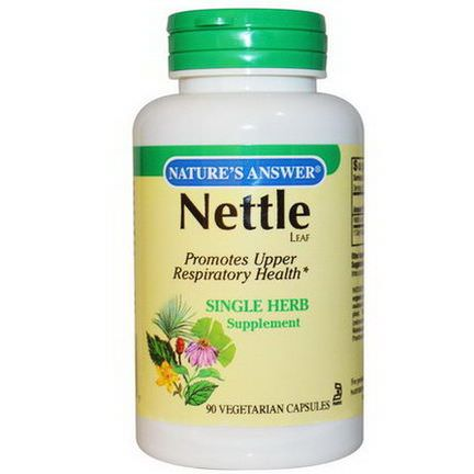 Nature's Answer, Nettle Leaf, 90 Veggie Caps