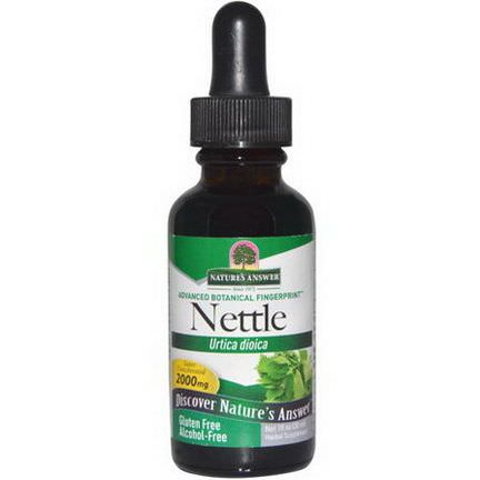 Nature's Answer, Nettle, Urtica Dioica, 2,000mg 30ml