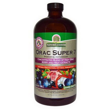 Nature's Answer, ORAC Super 7, Powerful Antioxidant 960ml