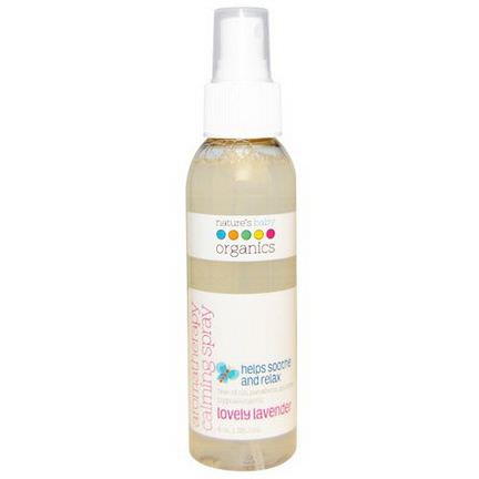 Nature's Baby Organics, Aromatherapy Calming Spray, Lovely Lavender 118.3ml