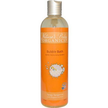 Nature's Baby Organics, Bubble Bath, Tangy Tangerine 354.9ml
