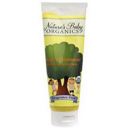 Nature's Baby Organics, Diaper Ointment, Fragrance-Free 85.05g