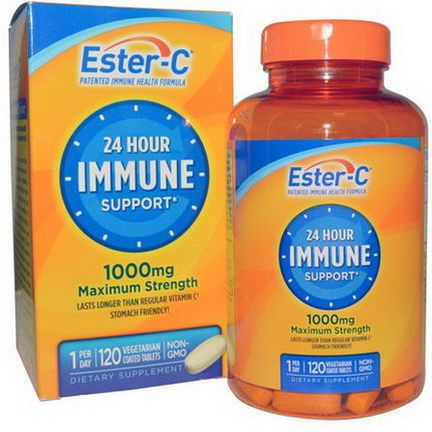 Nature's Bounty, Ester-C, 1000mg, 120 Veggie Coated Tablets