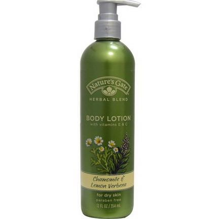 Nature's Gate, Body Lotion, Chamomile&Lemon Verbena 354ml