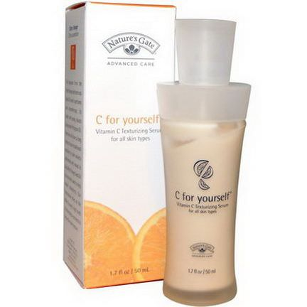 Nature's Gate, C for Yourself, Vitamin C Texturizing Serum 50ml