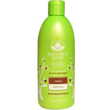 Nature's Gate, Conditioner, Daily Cleanse, Herbal 532ml