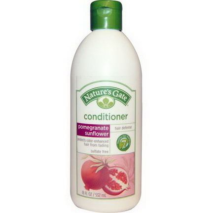 Nature's Gate, Conditioner, Hair Defense, Pomegranate Sunflower 532ml